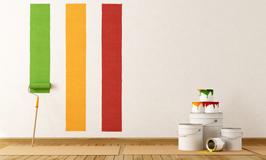 prova colori per ridipingere casa.